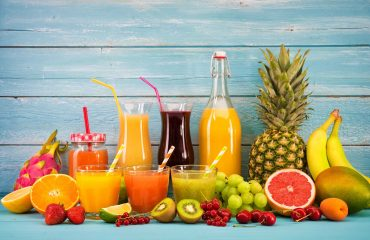 NFC juice with fruits