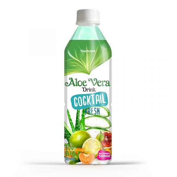 Aloe Vera Drink Cocktail 500ml PET Bottle
