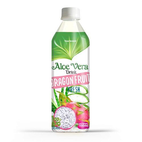 Aloe Vera Drink Dragon Fruit 500ml PET Bottle