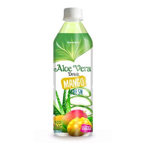 Aloe Vera Drink Mango 500ml PET Bottle