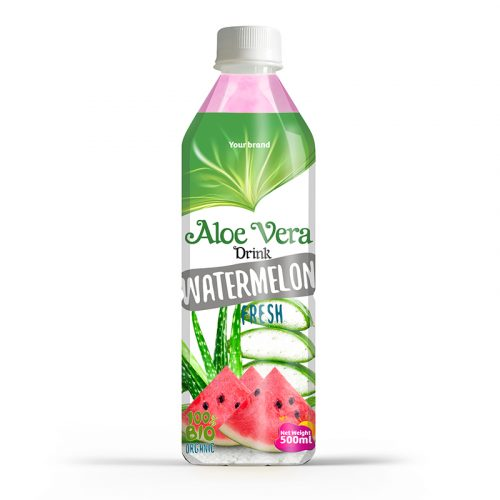 Aloe Vera Drink Watermelon 500ml PET Bottle