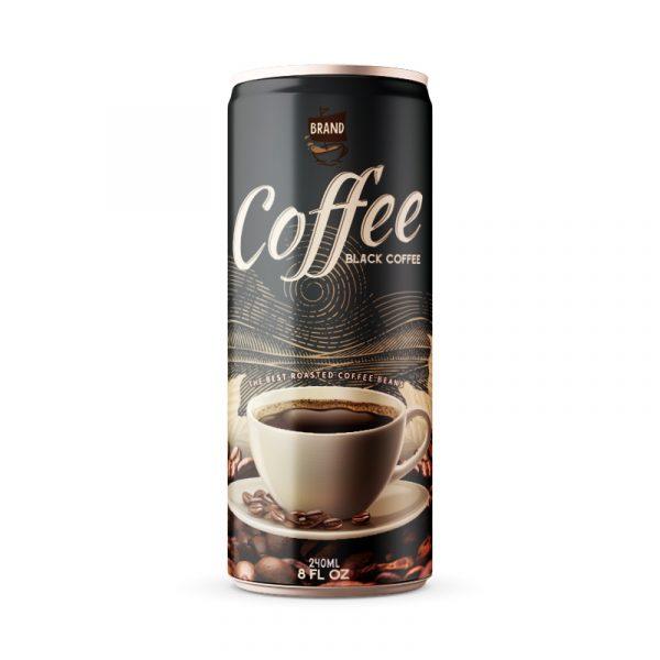 Black Coffee Drink 250ml Can