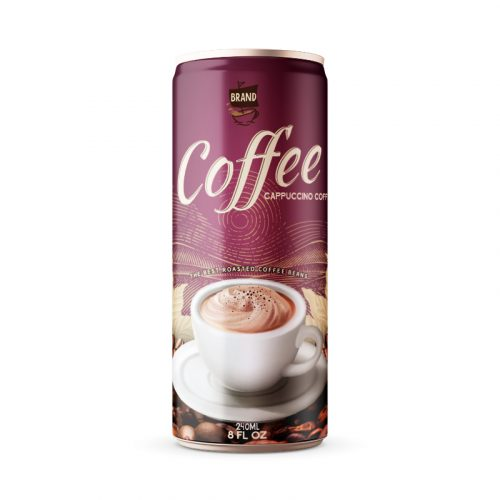 Cappuccino Coffee Drink 250ml Can