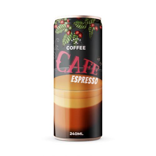 Espresso Coffee Drink 250ml Can