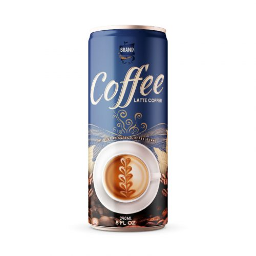 Latte Coffee Drink 250ml Can