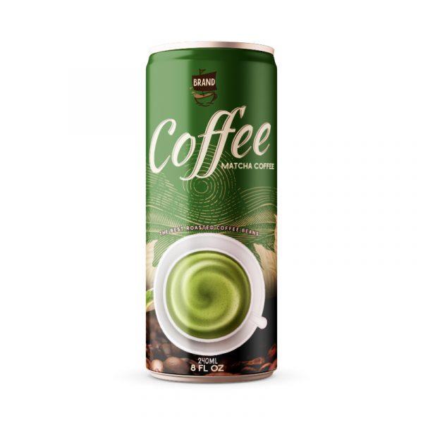 Matcha Coffee Drink 250ml Can