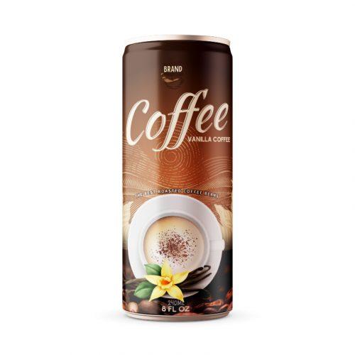 Vanilla Coffee Drink 250ml Can