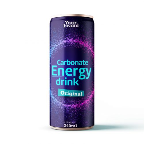 Carbonated Energy Drink Original 250ml Can