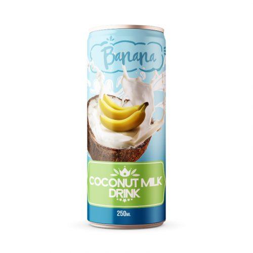 Coconut Milk Drink Banana 250ml Can