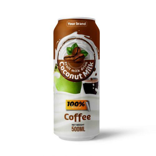 Coconut Milk Drink Coffee 500ml Can