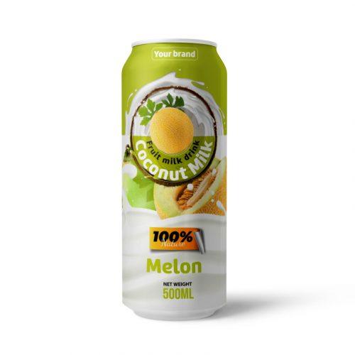 Coconut Milk Drink Melon 500ml Can