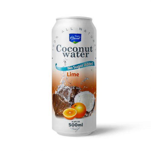Coconut Water Lime 500ml Can