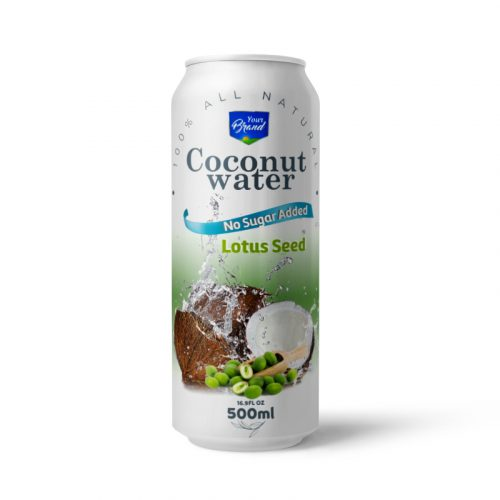 Coconut Water Lotus Seed 500ml Can
