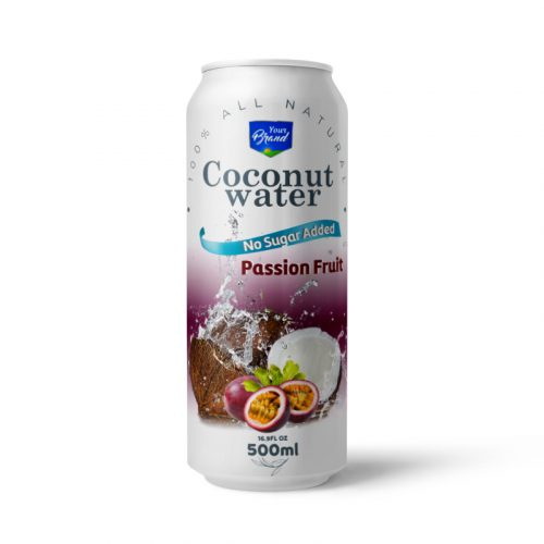 Coconut Water Passion Fruit 500ml Can