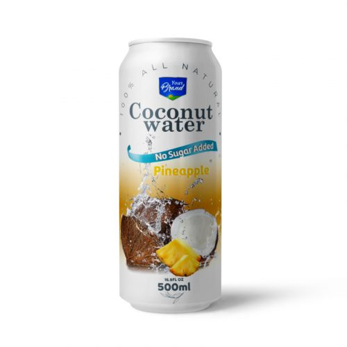 Coconut Water Pineapple 500ml Can