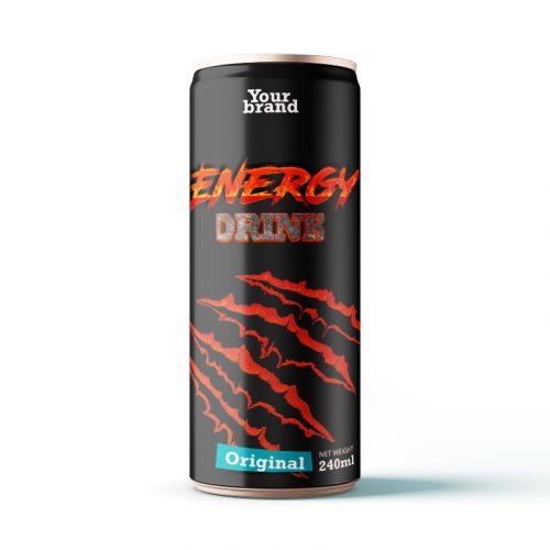 Energy Drink Original 250ml Can
