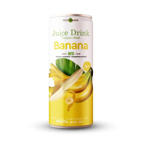 Banana Nectar 250ml Can