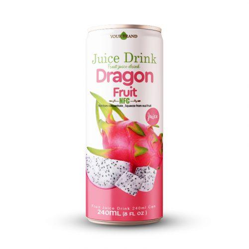 Dragon Fruit Juice Drink 250ml Can