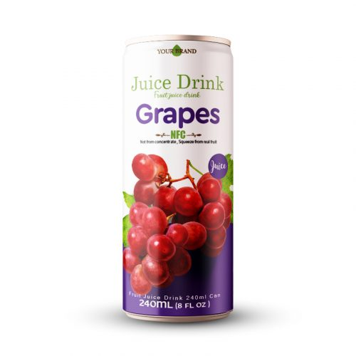 Grapes Juice Drink 250ml Can
