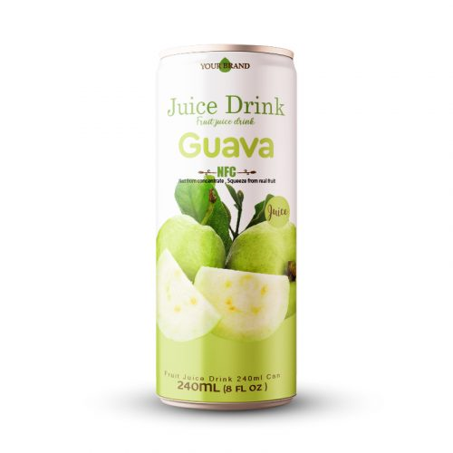 Guava Juice Drink 250ml Can