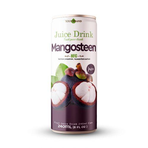 Mangosteen Juice Drink 250ml Can