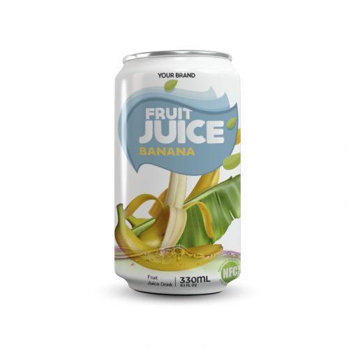 Banana Juice Drink 330ml Can