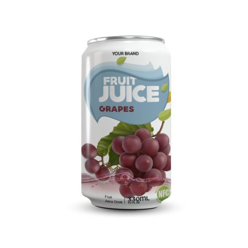 Grapes Juice Drink 330ml Can