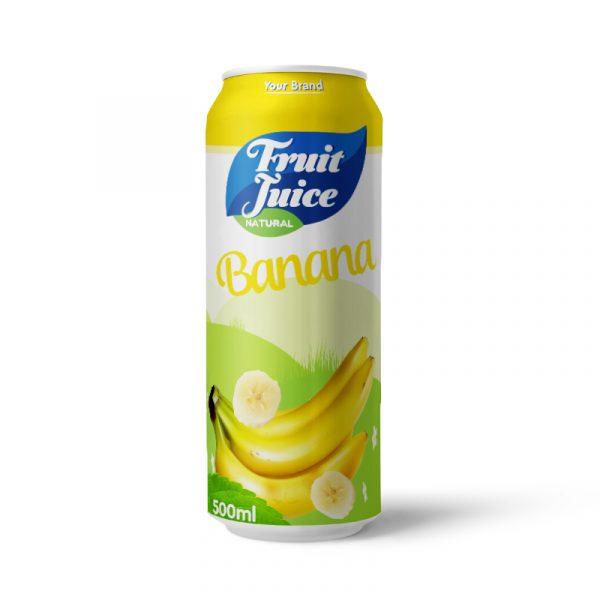 Banana Juice Drink 500ml Can