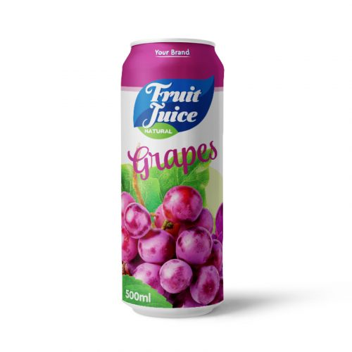 Grapes Juice Drink 500ml Can