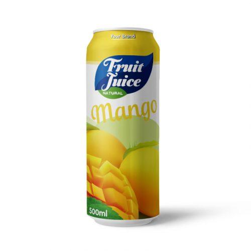Mango Juice Drink 500ml Can