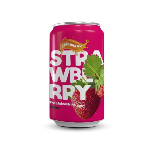 Strawberry Nectar 330ml Can