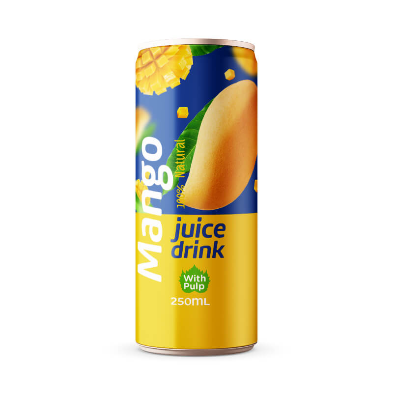 Mango Juice Drink with Pulp 250ml Can