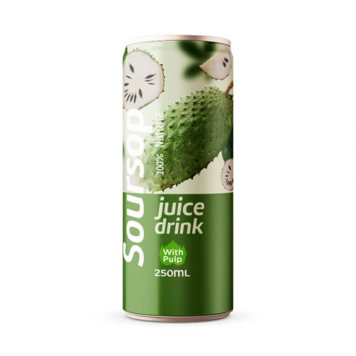 Soursop Juice Drink with Pulp 250ml Can