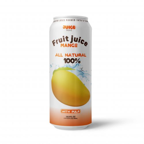 Mango Juice Drink with Pulp 500ml Can