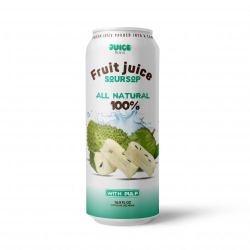 Soursop Juice Drink with Pulp 500ml Can
