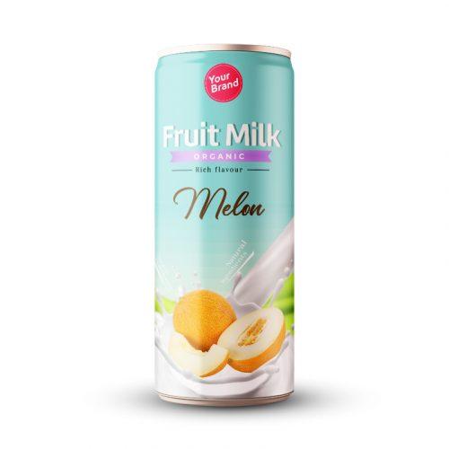 Melon Milk Drink 250ml Can