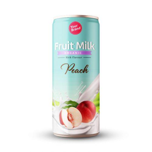 Peach Milk Drink 250ml Can