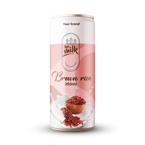 Brown Rice Milk Drink 250ml Can