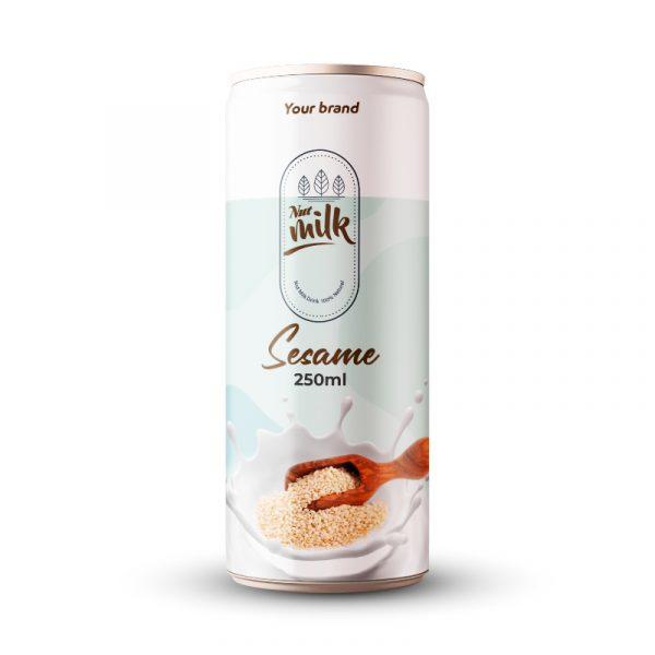 Sesame Milk Drink 250ml Can