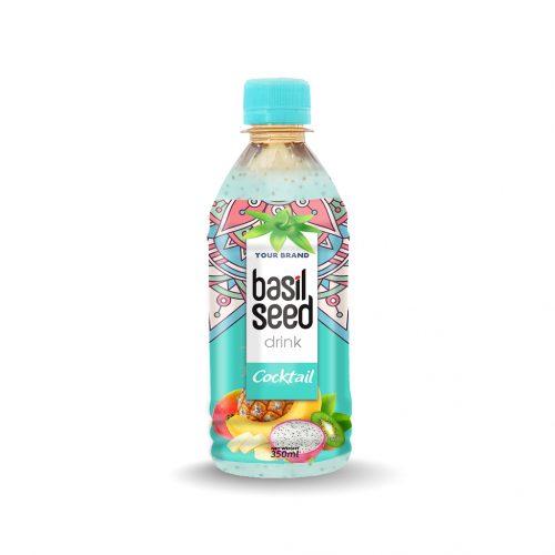 Basil Seed Drink Cocktail 350ml PET Bottle