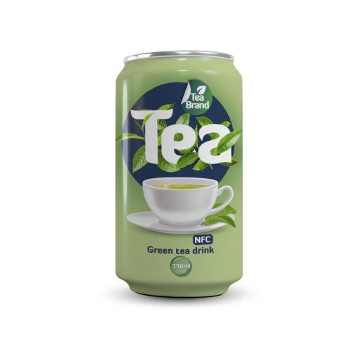 Green Tea Drink 330ml Can