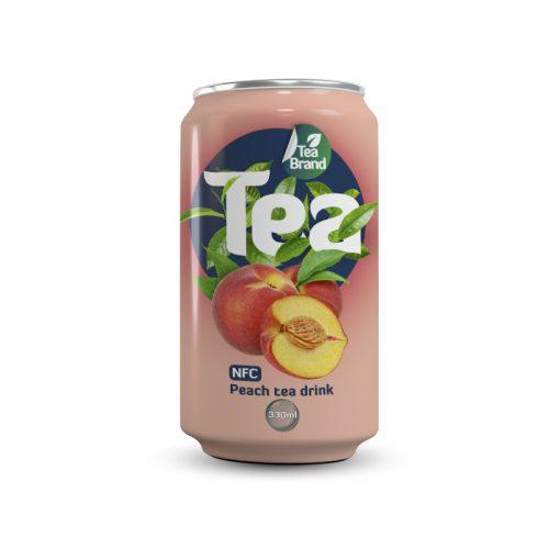 Peach Tea Drink 330ml Can