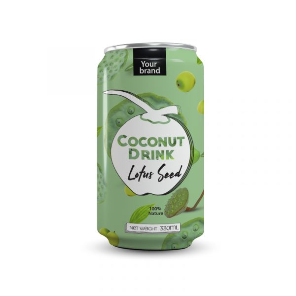Coconut Water Lotus Seed 330ml Can