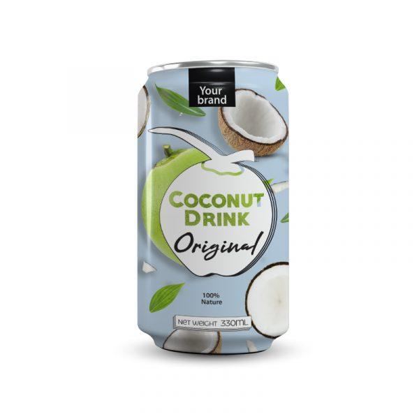 Coconut Water Original 330ml Can
