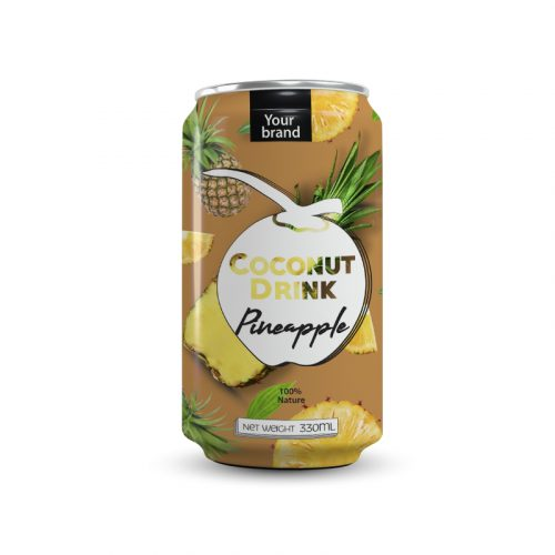 Coconut Water Pineapple 330ml Can