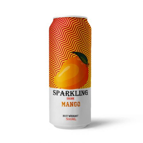 Mango Sparkling Water 500ml Can