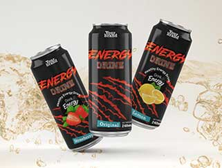 NON-CARBONATED ENERGY DRINK