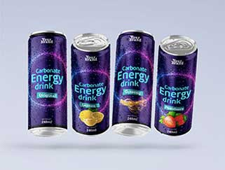 CARBONATED ENERGY DRINK