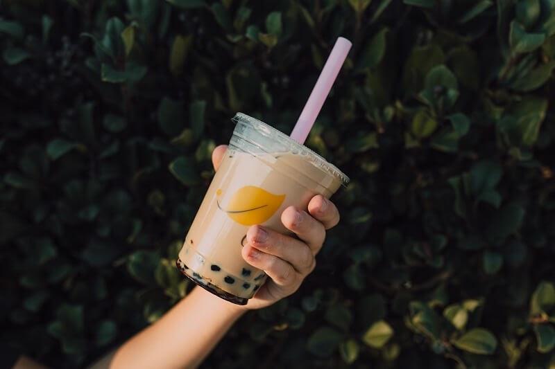 bubble tea - a trendy type of beverage