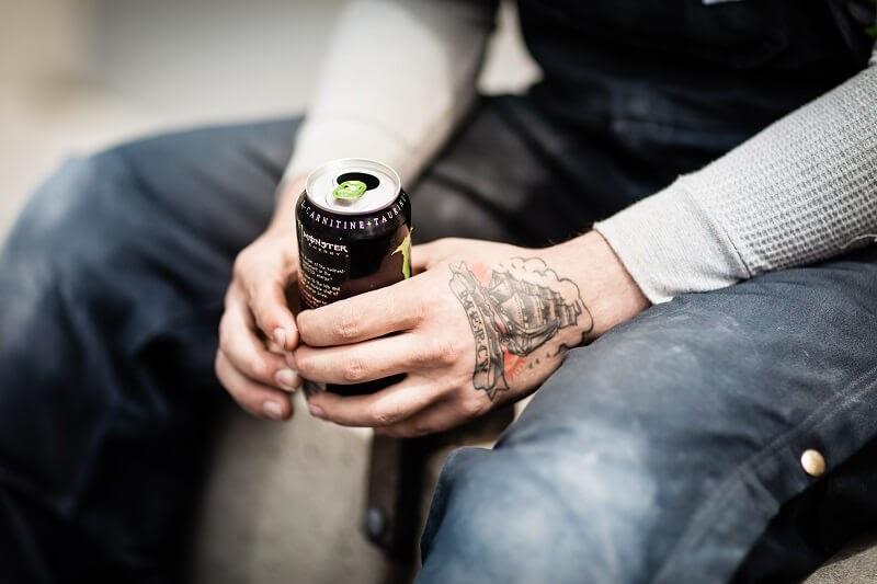 type of beverage - energy drink